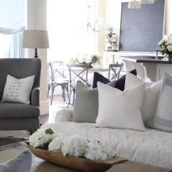 White Chair Covers Target Folding Dining Room Chairs Beautiful Homes Of Instagram - Home Bunch Interior Design Ideas