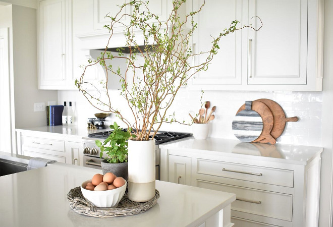 white kitchen island with stools tables & more nantucket-inspired design - home bunch ...