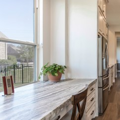 Kitchen Desk Macy's Towels Transitional Modern Farmhouse Design Home Bunch Interior