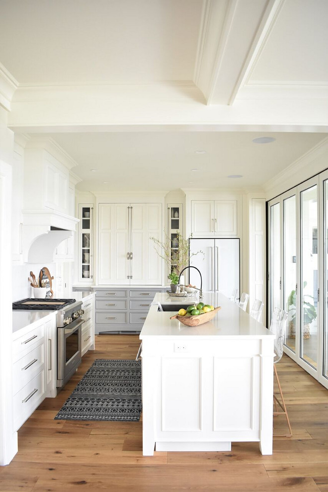 Nantucket Inspired White Kitchen Design Home Bunch