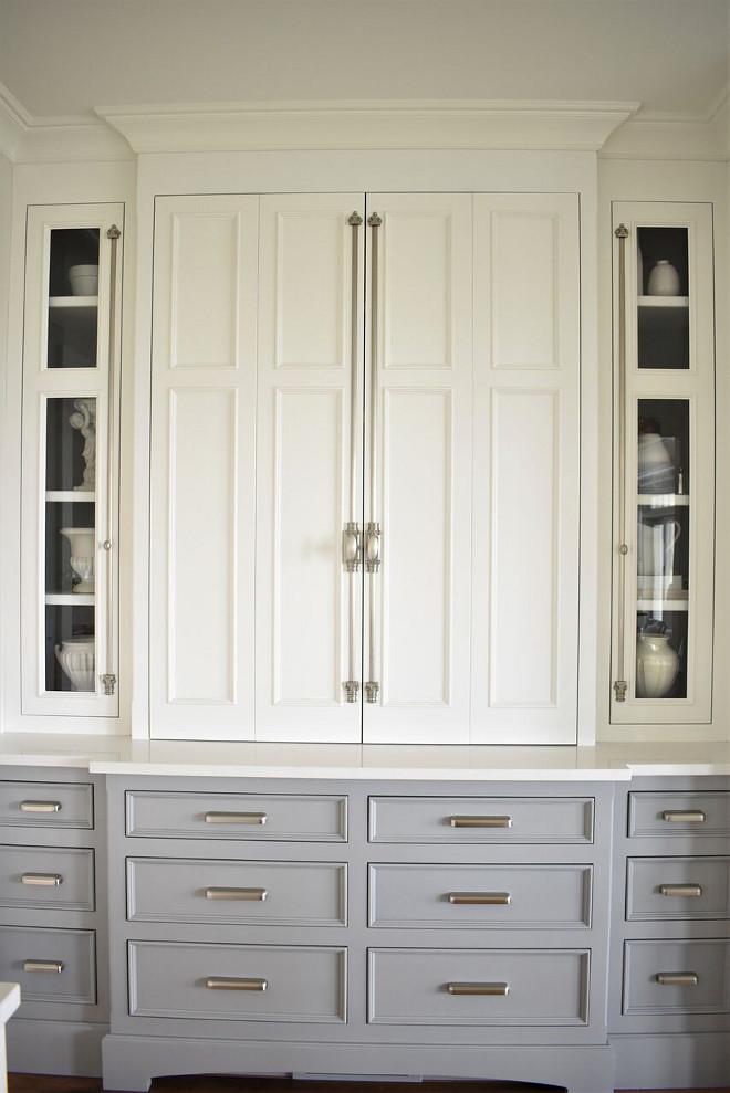 european kitchen cabinet hardware utensil nantucket-inspired white design - home bunch ...