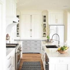 Ge Kitchen Appliances Vineyard Decor Nantucket-inspired White Design - Home Bunch ...