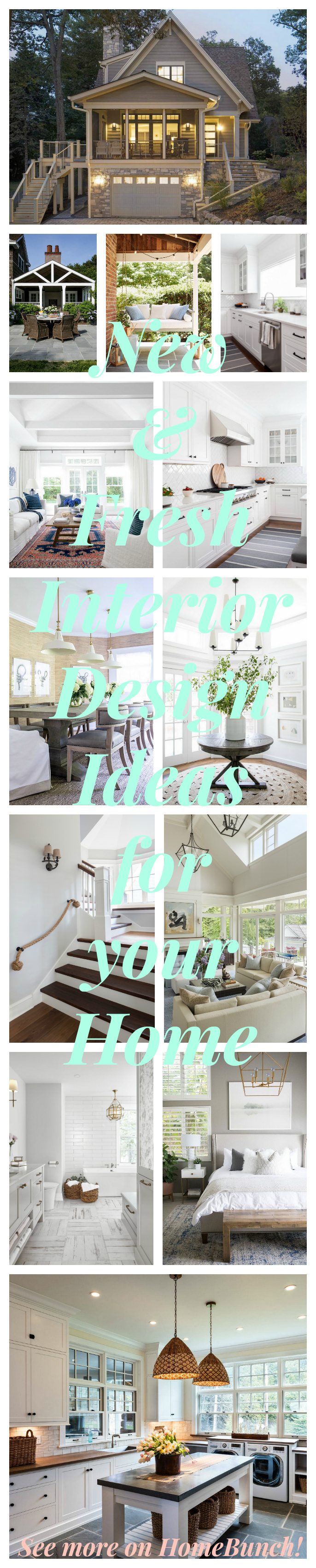 New & Fresh Interior Design Ideas for your Home. See interior ideas for your home on the blog today #interiors #interiordesignideas #interiordesign #interiorsources Home Bunch