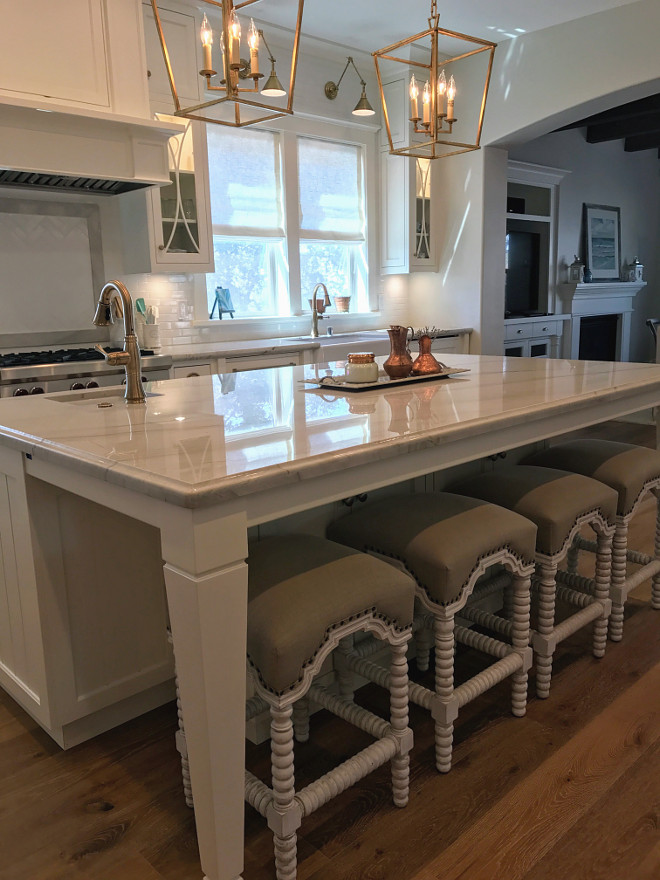 36 inch kitchen sink island marble top new classic white – renovation inspiration - home ...