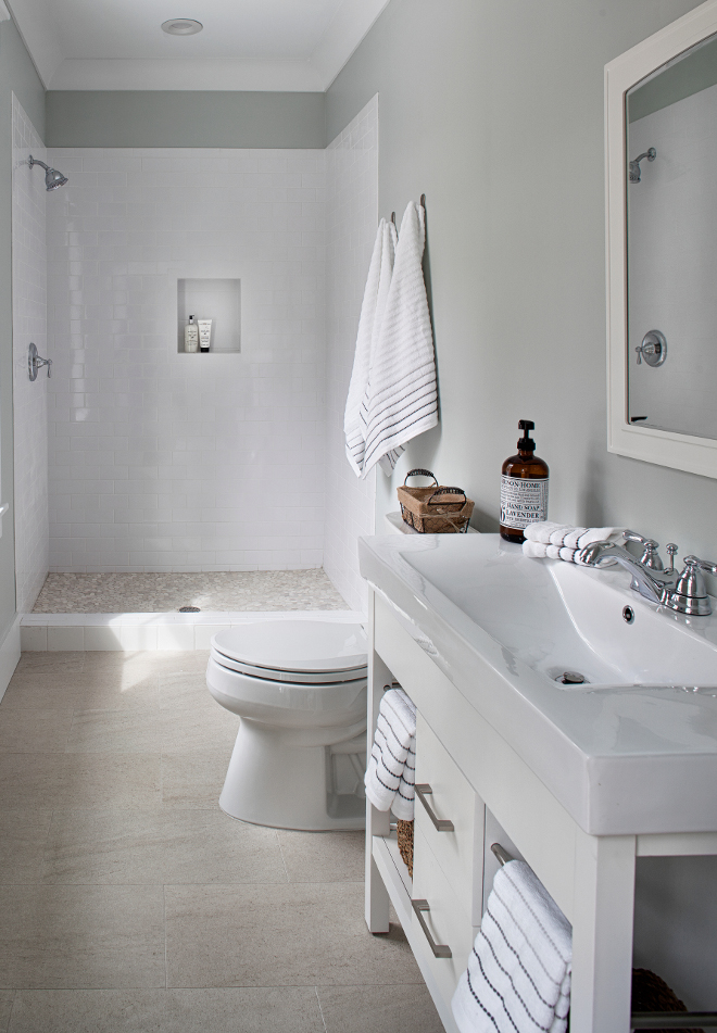 Bathroom Decor Grey Walls
