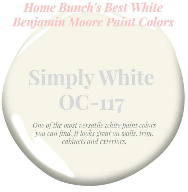 Best White Paint Colors By Benjamin Moore Koby Kepert,Modern Cottage Bedroom Decor