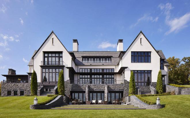 Stone and stucco home. Stone and stucco home design. Stone and stucco home ideas. Stone and stucco home ideas exterior #Stoneandstuccohome John Kraemer & Sons