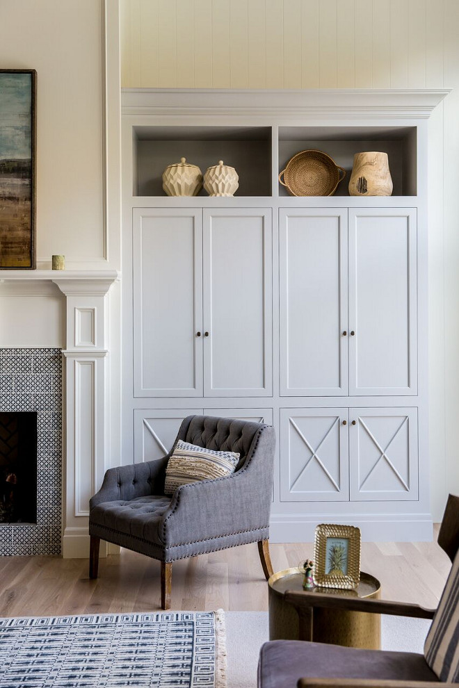Benjamin Moore Harbor Gray AC-25. Soft blue grey paint color Benjamin Moore Harbor Gray AC-25. Benjamin Moore Harbor Gray AC-25. Benjamin Moore Harbor Gray AC-25. Benjamin Moore Harbor Gray AC-25 #BenjaminMooreHarborGrayAC25 Caitlin Creer Interiors. C. S. Cabinetry & Design