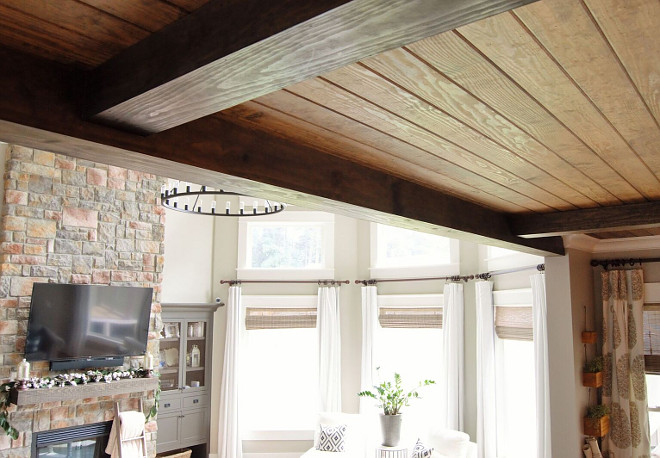 Ceiling V-Groove Pine Plank finished with Minwax Stain in Provincial. Ceiling V-Groove Pine Plank finished with Minwax Stain in Provincial. Ceiling V-Groove Pine Plank finished with Minwax Stain in Provincial. Ceiling V-Groove Pine Plank finished with Minwax Stain in Provincial. #Ceiling #VGroove #Pine #Plank #Minwax #Stain #MinwaxProvincial Home Bunch Beautiful Homes of Instagram @mygeorgiahouse