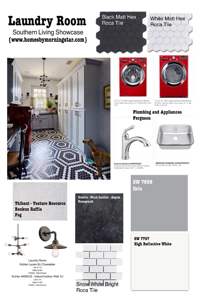 Laundry room sources. Pin this to remember all sources and paint colors used on this laundry room. Morning Star Builders