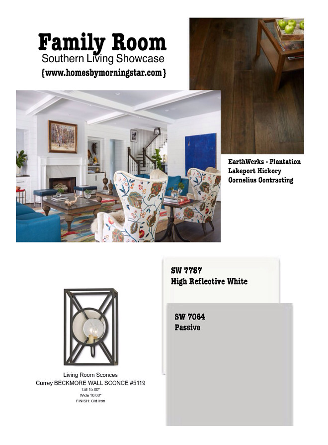 Living room paint color and lighting sources. Morning Star Builders