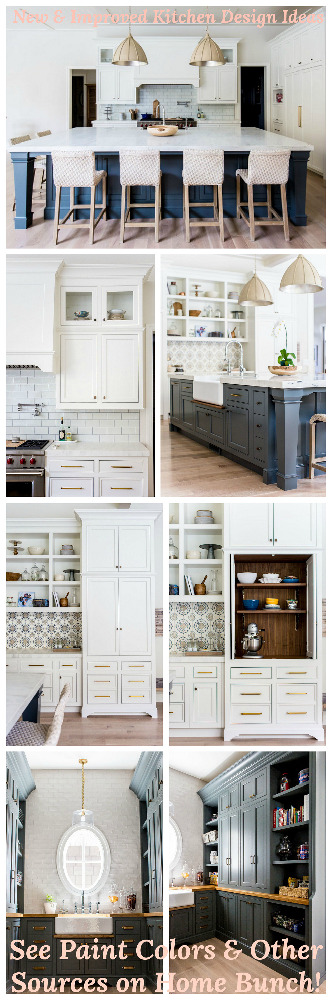 New & Improved Kitchen Design Ideas. New & Improved Kitchen Design Ideas. New & Improved Kitchen Design Ideas #NewandImprovedKitchenDesignIdeas Home Bunch