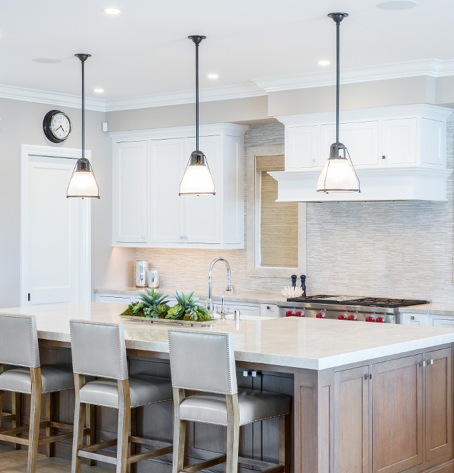 Kitchen island with three pendants Kitchen island with three pendants ideas Kitchen island with three pendants Kitchen island with three pendants #Kitchenisland #threependants