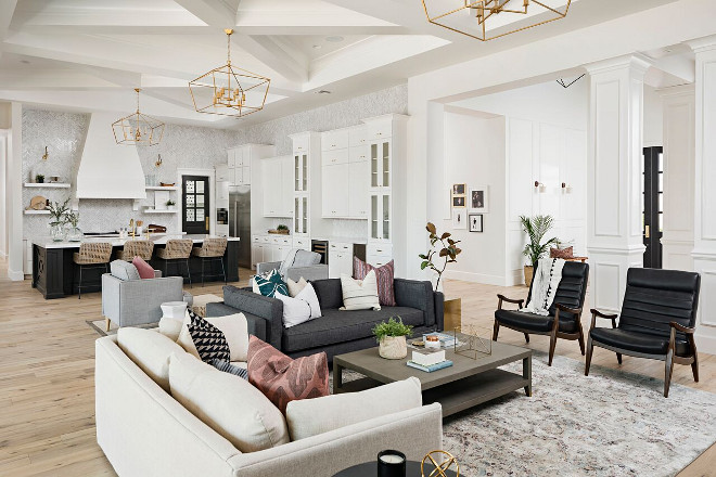 Mid-century inspired family room. Mid-century inspired family room. Mid-century inspired family room. Mid-century inspired family room #Midcenturyinspired #familyroom A Finer Touch Construction