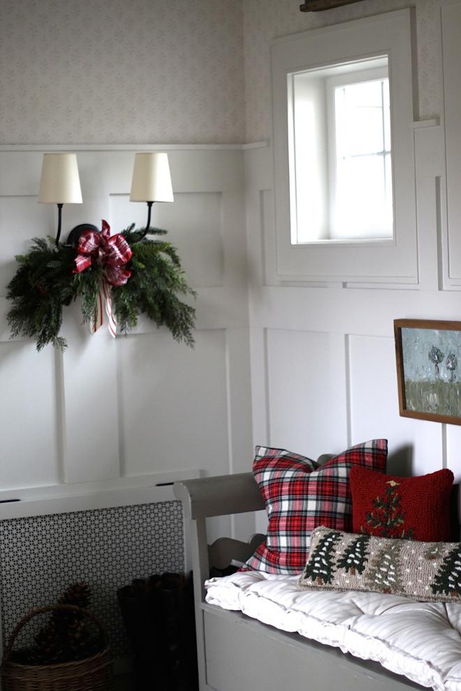 Mudroom Christmas Decor Sconce Christmas decor