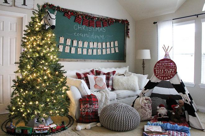 Christmas Playroom