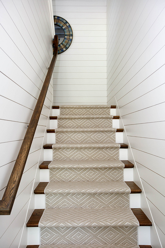 """Tongue and groove Shiplap Use 1/2 thick 5.5"""" mdf base gaped to look like shiplap I love this look and think it yields a cleaner looking finished product"""