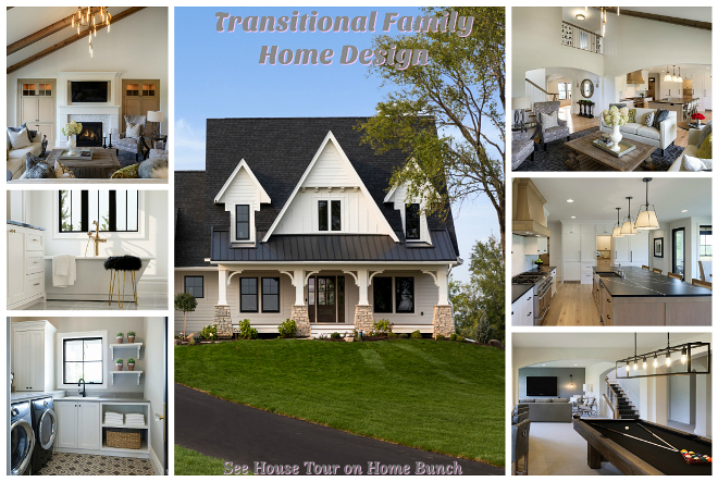 Transitional Family Home Design Transitional Family Home Design House tour and decor sources #Transitionalhome #FamilyHome #FamilyHomeDesign