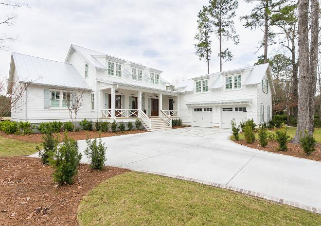 Lowcountry-style Home Coastal Farmhouse Lowcountry-style Home Lowcountry-style Home