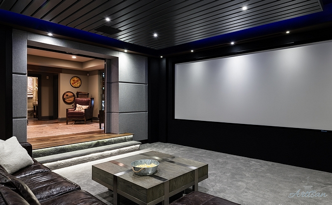 Theater Room Modern Farmhouse Theater Room Theater Room Theater Room