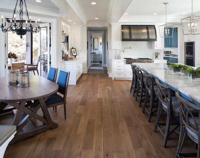 Kitchen hardwood flooring Hardwood Flooring is Rift Cut White Oak