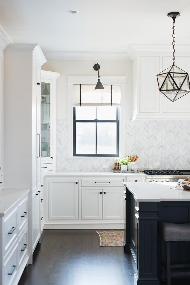 Kitchen Black Window with Roman Shades Kitchen Black Window Kitchen Black Windows