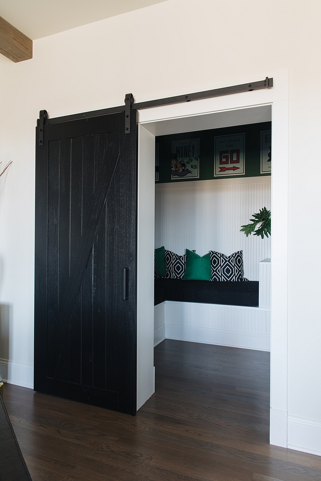 Black Barn Door Paint Color Black by Benjamin Moore