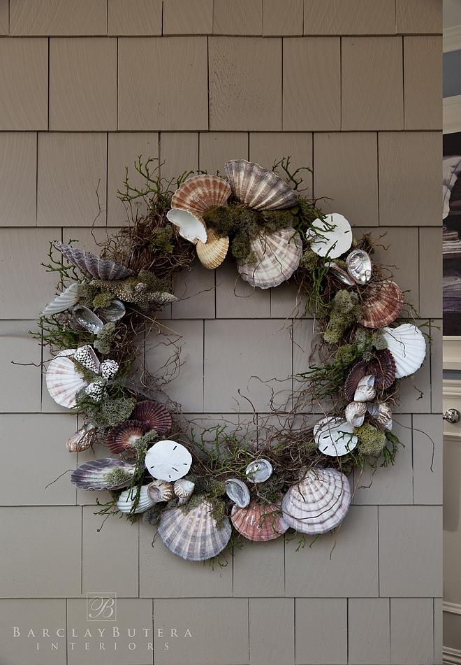 Shell Wreath Summer Shell Wreath Ideas DIY Shell Wreath Summer Wreath Shell Wreath
