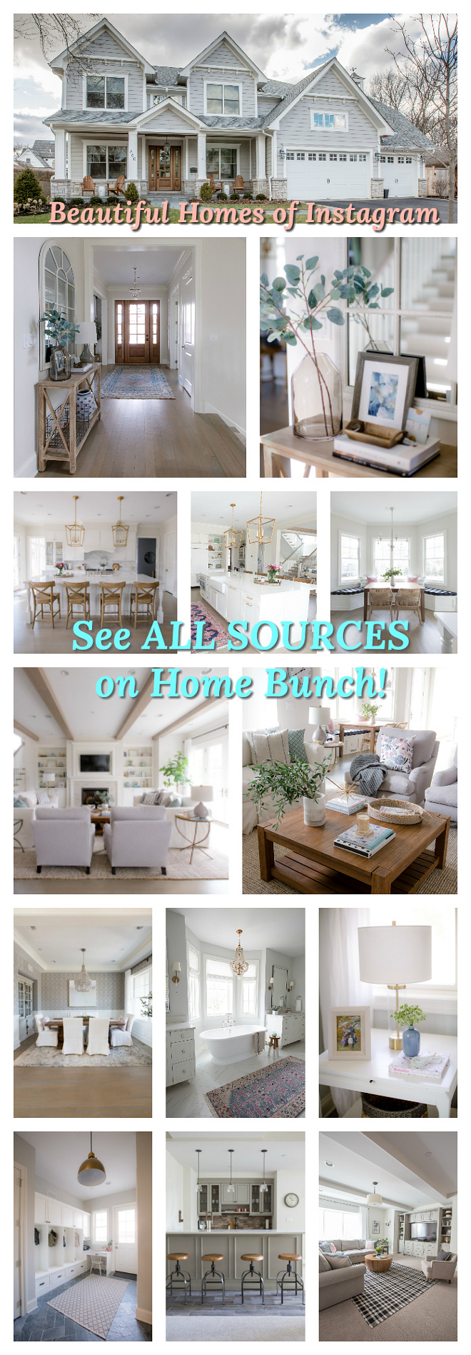 Home Bunch Most Popular Blog Series Beautiful Homes of Instagram