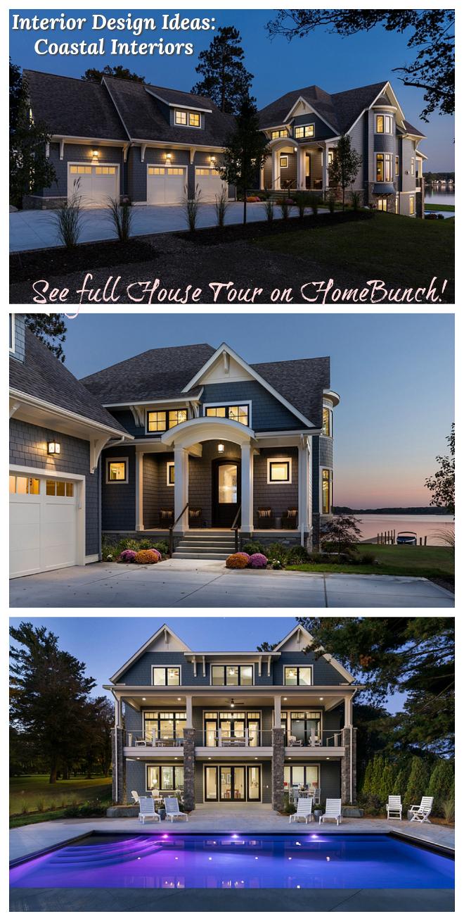 Interior Design Ideas Coastal Interiors Full House Tour on Home Bunch