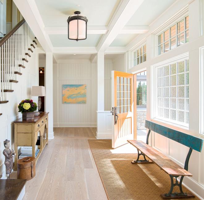 Paint Color Walls ceilings trim Benjamin Moore White Dove sheen varies