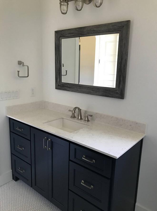 Hale Navy Benjamin Moore Bathroom Vanity Bathroom Hale Navy Benjamin Moore Bathroom Vanity #HaleNavyBenjaminMoore #Bathroom