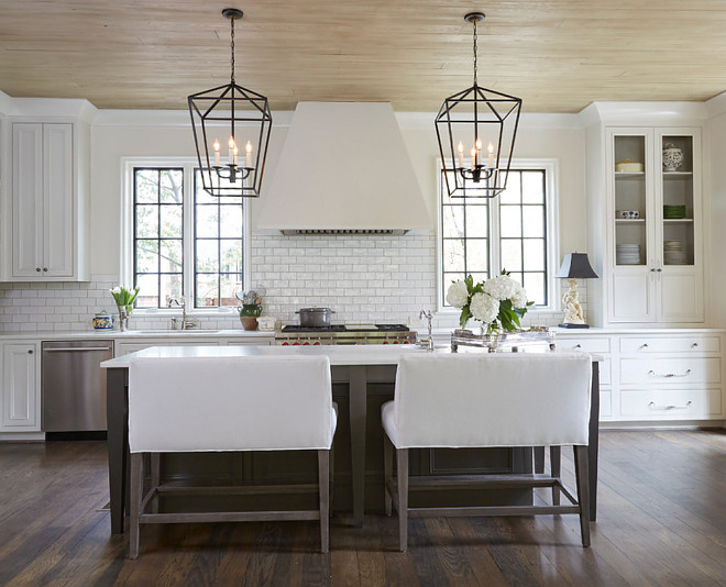 Kitchen Ceiling is Tongue and Groove with Driftwood Stain Kitchen ceiling Ceiling is Tongue and Groove with Driftwood Stain ideas