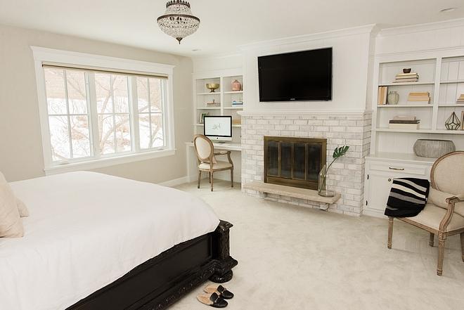 Bedroom fireplace renovation ideas
