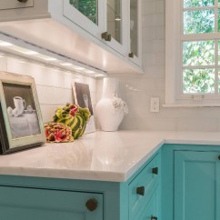 Rohl Kitchen Faucet Candles Custom With Turquoise Cabinets - Home Bunch ...