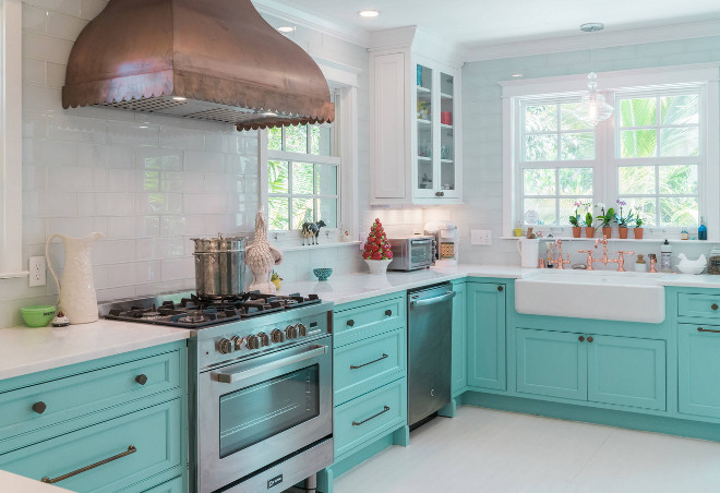youngstown kitchen cabinets gray island custom with turquoise - home bunch ...