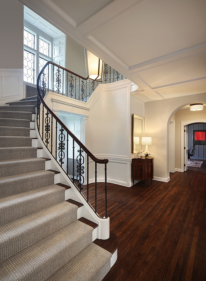Renovated Traditional Staircase Renovated Traditional Staircase Ideas Renovated How to update a traditional staircase #RenovatedStaircase #traditionalstaircase