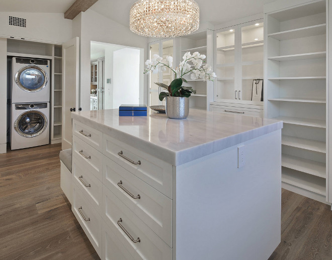 Dressing room with Washer and Dryer Closet Dressing room with Washer and Dryer Dressing room with Washer and Dryer Ideas #Dressingroom