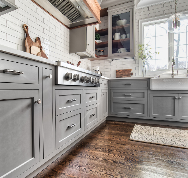 Grey Kitchen Design  Home Bunch Interior Design Ideas