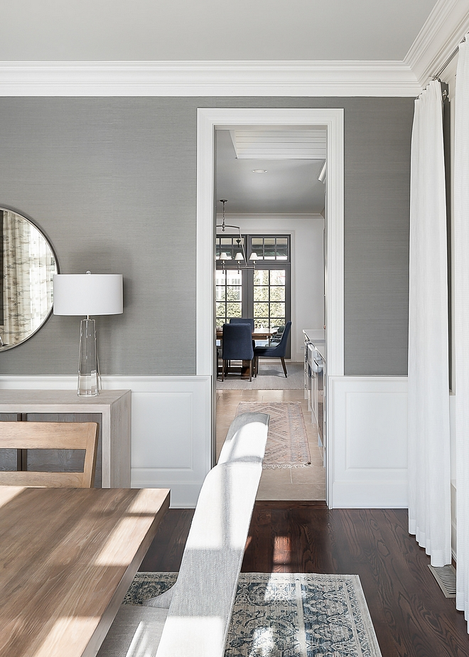 The dining room opens to the newly renovated kitchen - see pictures on Home Bunch