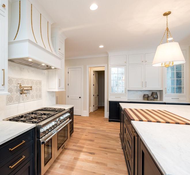 "Kitchen Hardwood Floor Type Floors are 4"" site finished White Oak finished in a Loba custom blend #hardwoodflooring #kitchen #besthardwoodfloors #kitchenhardwood #kitchenflooring"