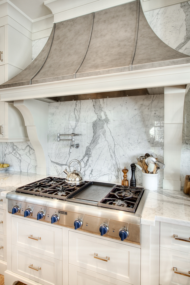 French Hood French Kitchen Hood French Kitchen Hood The hood fan is a custom stainless steel hood with a patina finish applied The hood was custom made by a metal-smith #FrenchKitchenHood #FrenchKitchen #FrenchHood
