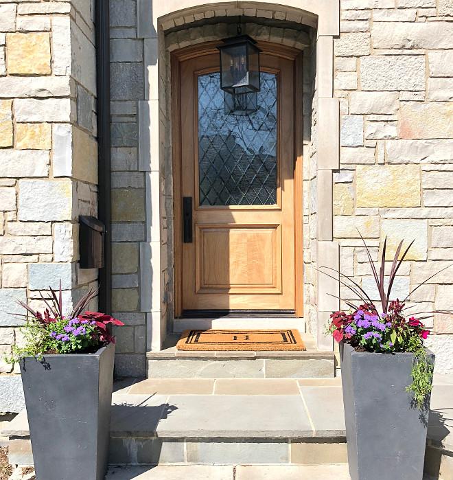 Leaded glass door Wood and leaded glass front door Door Wood and Glass front Door Front Door leaded glass door sanded down with a clear poly #Frontdoor #leadedglassdoor
