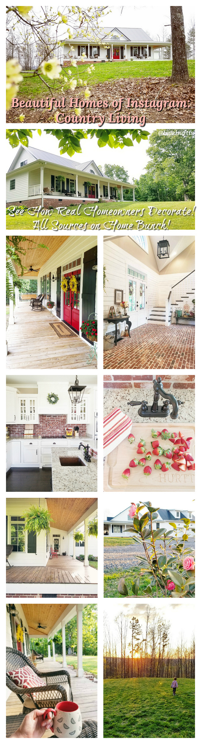 Beautiful Home of Instagram See How Real Homeowners Decorate! All Sources on Home Bunch!