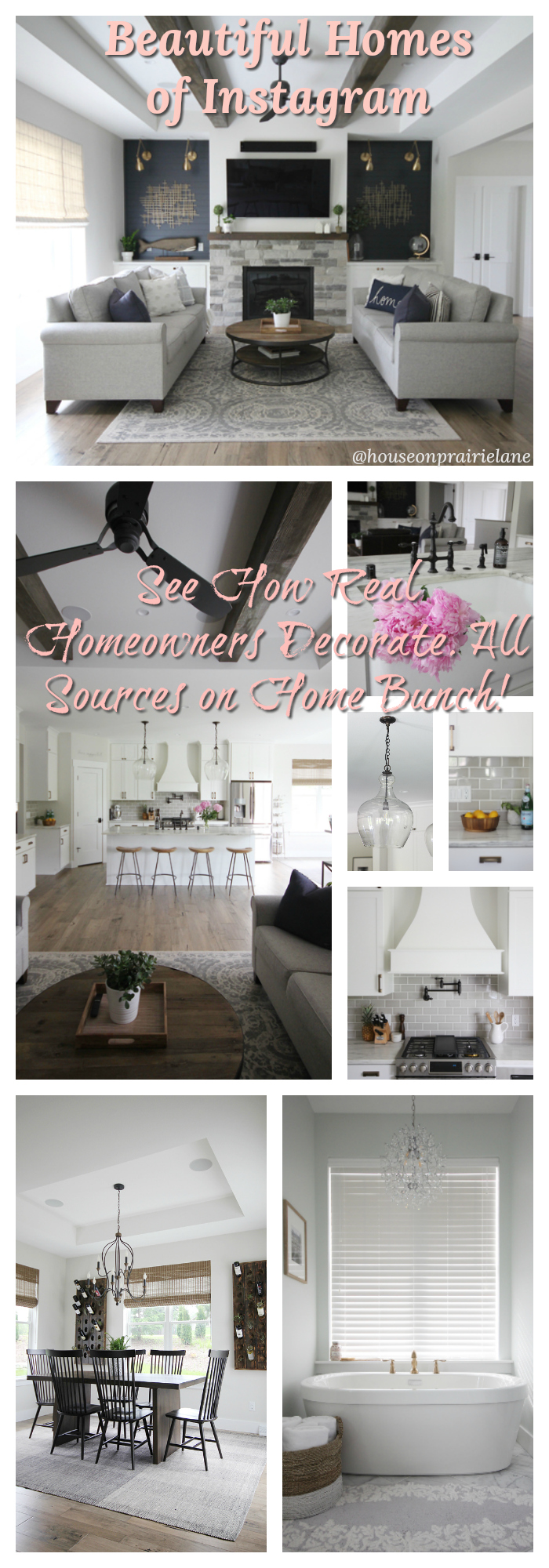 Beautiful Homes of Instagram See How Real Homeowners Decorate All Sources on Home Bunch Beautiful Homes of Instagram Beautiful Homes of Instagram #BeautifulHomes #Instagram