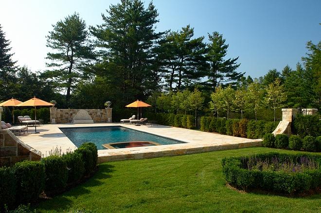 View of Pool Backyard