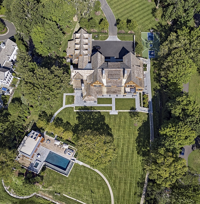 Arial View Homes