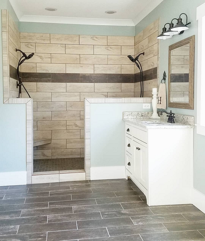 Large Tile Shower Large Tile Shower Large Wall Tile Shower Large Tile #LargeTile #ShowerLargeTile #Shower #LargeWallTile