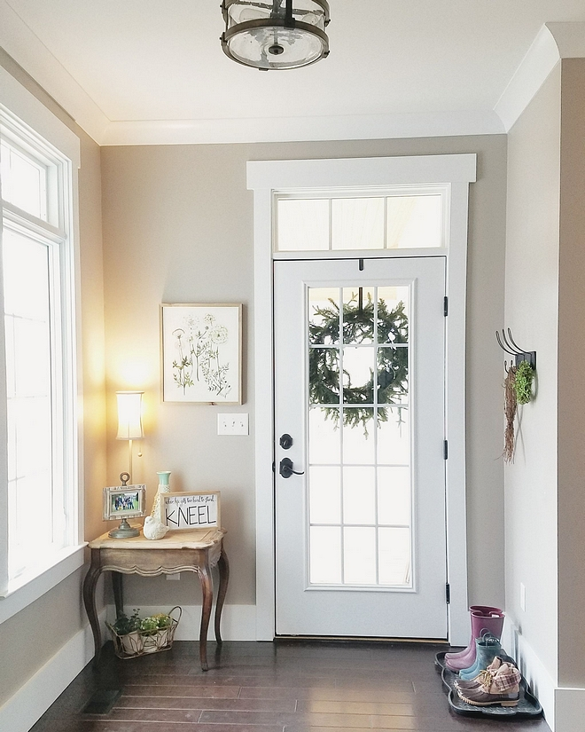 Perfect Greige by Sherwin Williams neutral light tan with a hint of grey paint color Perfect Greige by Sherwin Williams Perfect Greige by Sherwin Williams Perfect Greige by Sherwin Williams Perfect Greige by Sherwin Williams #PerfectGreigebySherwinWilliams