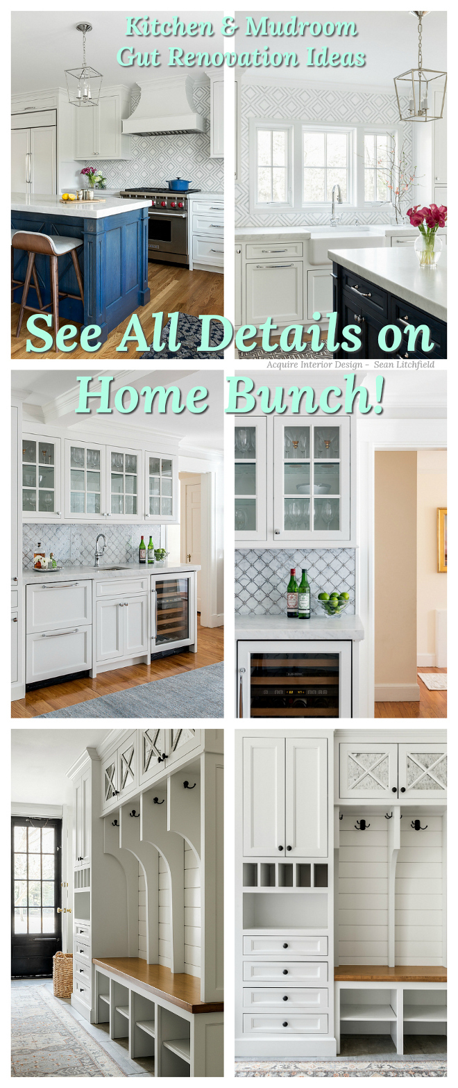 Kitchen and Mudroom Gut Renovation Ideas Kitchen and Mudroom Gut Renovation #Kitchenrenovation #Mudroomrenovation #GutRenovation